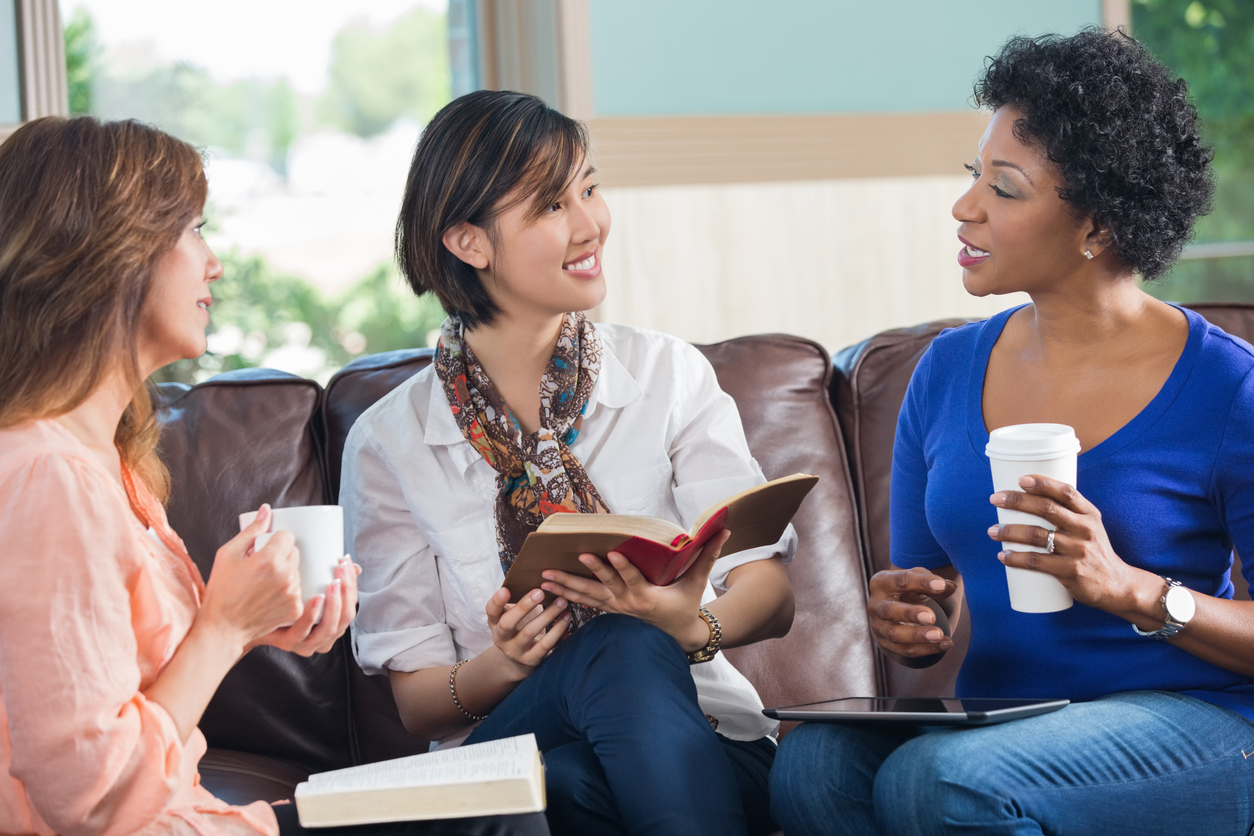 Start a book club to spend time with your friends
