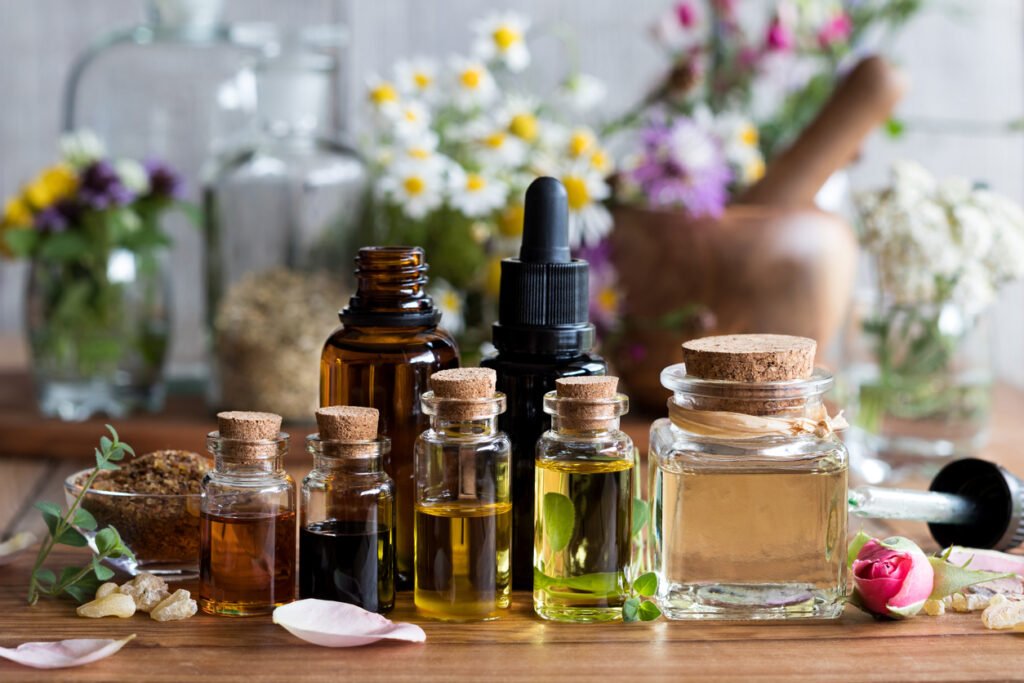 essential oils for inflammation or aches and pain