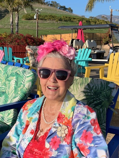 Patricia Bragg is bold and colorful