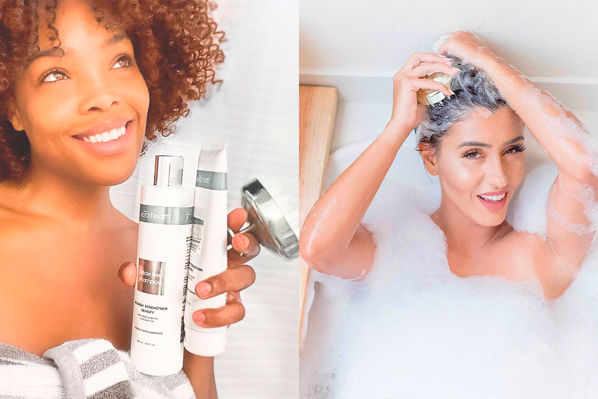 Ladies are happy to use Kera Health hair products
