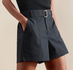 Banana Republic Summerweight Utility Belted Pull-On Short