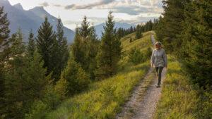 Benefits of walking for mature women