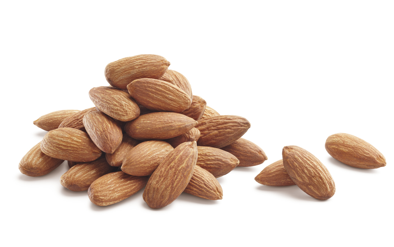 Almonds are a healthy snack