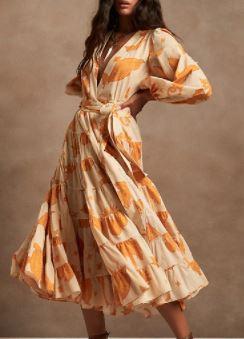 Banana Republic Wrap Midi Dress