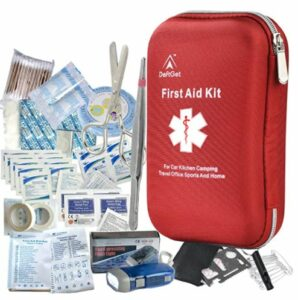 Deftget 163 Pieces First Aid Kit
