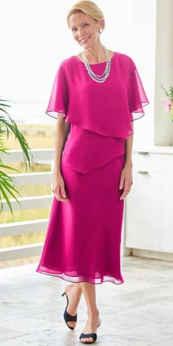 Drapers Special Occasion Flirty Two-Piece Dress
