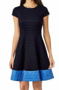 Eliza JTextured Dress