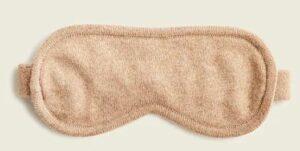JCREW Cashmere sleep mask