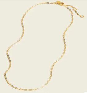 JCREW flat chain necklace