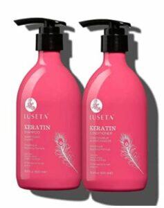 Luseta Keratin Shampoo and Conditioner