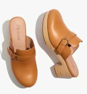 Madewell The Monique Buckle Clog