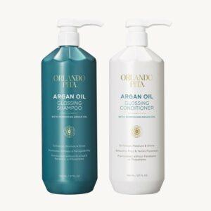 Orlando Pita Argan Oil Glossing Shampoo and Conditioner