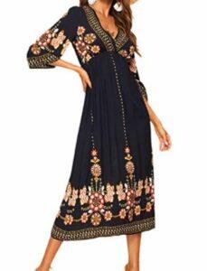 Romwe Women's Floral Dress