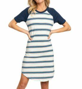 Sol Angeles Retro Stripe Raglan Dress
