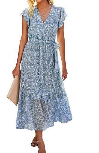 Summer Bohemian Floral Dress