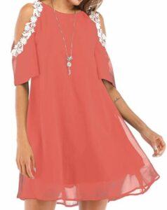 Summer Chiffon Lace Dress
