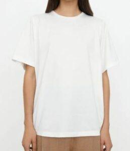 Toteme Oversized cotton tee off-white