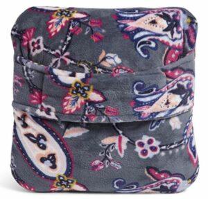 Vera Bradley Fleece Fleece Travel Blanket with Trolley Sleeve