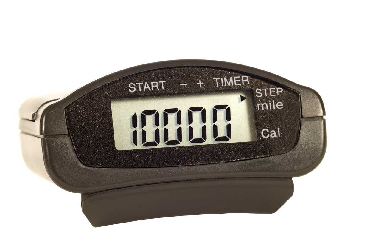 Pedometer for 10000 steps a day