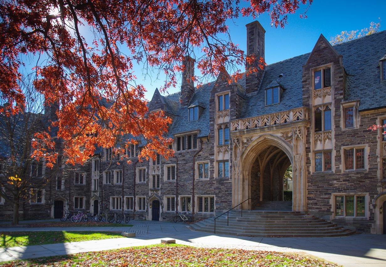 MacKenzie Scott attended Princeton University. Campus image.