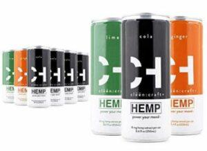 Cleen Craft | Mood-Boosting, Non-Alcoholic Premium Sparkling Hemp Drink