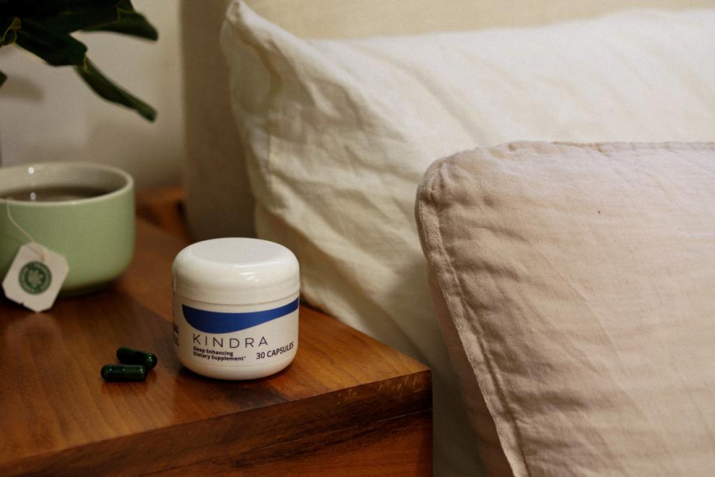 Kindra sleep enhancing dietary supplement