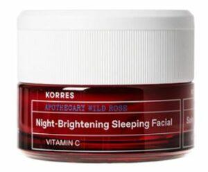 Korres Wild Rose Night-Brightening Sleeping Facial