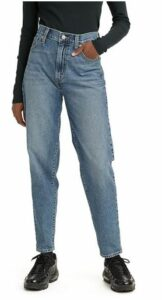 Levi's High Waisted Tapered Jeans