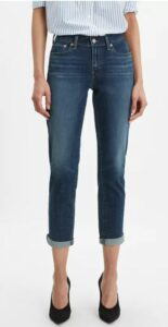 Levi's Women's Boyfriend Tapered-Leg Jeans