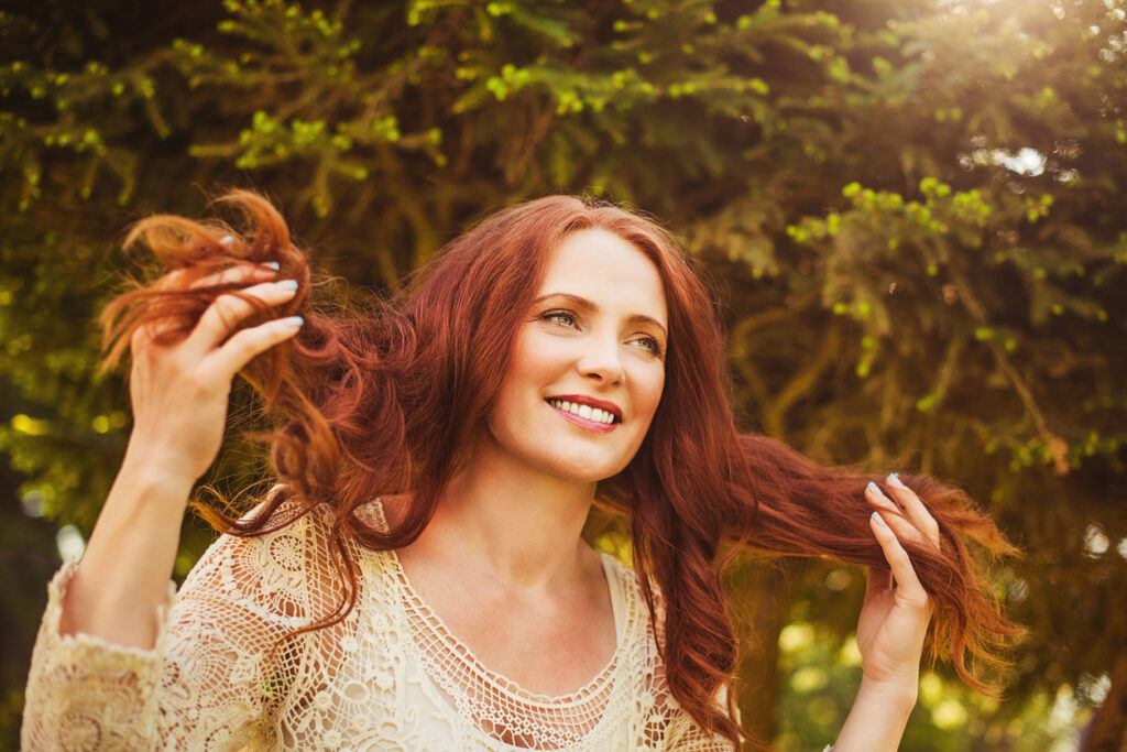 Natural thickeners for thin hair