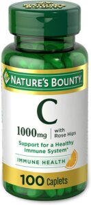 Nature's' Bounty Vitamin C natural thickeners for fine hair