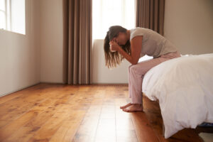 Perimenopause anxiety in the morning