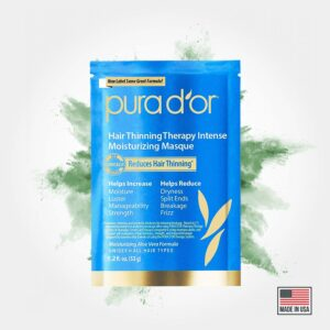 Pura d'or hair thinning therapy masque