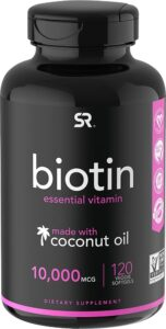 Sports Research Biotin with organic coconut oil