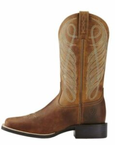 Ariat Round Up Wide Square Toe Western Boot