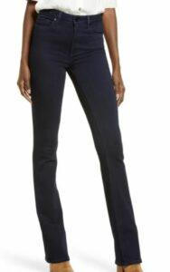 Paige Manhattan High Waist Bootcut Jeans