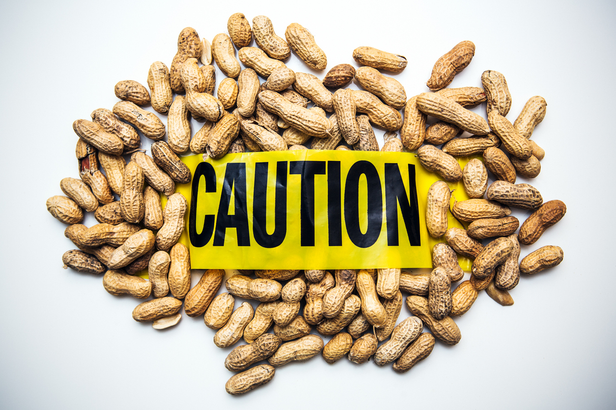 Peanuts for food allergies or elimiation diet
